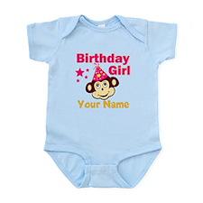 Birthday girl custom Infant Bodysuit