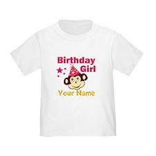 Birthday girl custom T