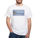 Crown King White T-Shirt