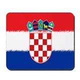 Croatian Flag Mousepad