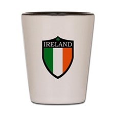 Ireland Flag Patch Shot Glass