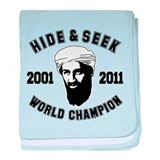 Hide & Seek World Champion baby blanket