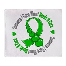 Kidney Disease Needs A Cure Throw Blanket