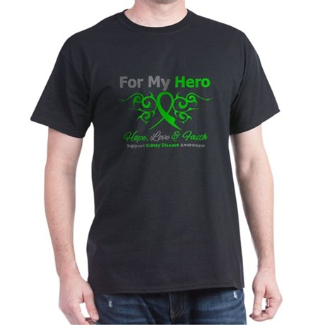 Kidney Disease For My Hero Dark T-Shirt