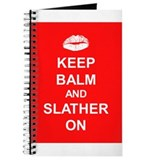 Keep balm slather on Journals
