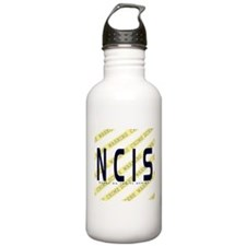 NCIS TV: Crime Scene Water Bottle
