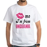 Kiss Me Im From Indiana Shirt
