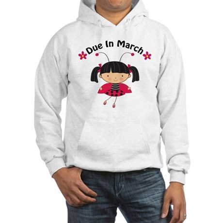 Cute March Pregnancy Hooded Sweatshirt