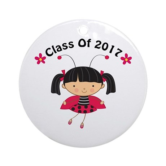 2017 Class Ornament (Round)