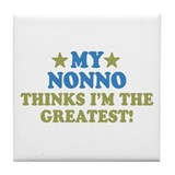My Nonno Tile Coaster
