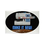 ST: Make It Sew Rectangle Magnet (100 pack)