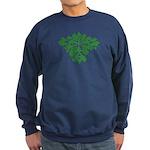 Green Man Sweatshirt (dark)