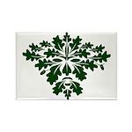 Green Man Rectangle Magnet (100 pack)