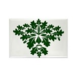 Green Man Rectangle Magnet (10 pack)