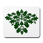 Green Man Mousepad