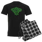 Green Man Men's Dark Pajamas