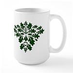 Green Man Large Mug
