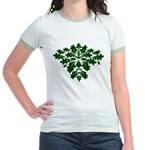 Green Man Jr. Ringer T-Shirt