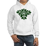 Green Man Hooded Sweatshirt