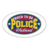 Proud to be a Police Husband Decal