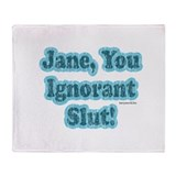 SNL: Jane Throw Blanket