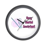 Sexy Dental Assistant Wall Clock