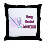Sexy Dental Assistant Throw Pillow