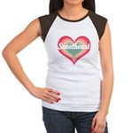 Sweetheart Women's Cap Sleeve T-Shirt