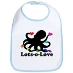 Octopus Love Bib