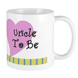Uncle To Be Stripes Mug
