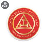 "Golden Rule Chapter 3.5"" Button (10 pack)"