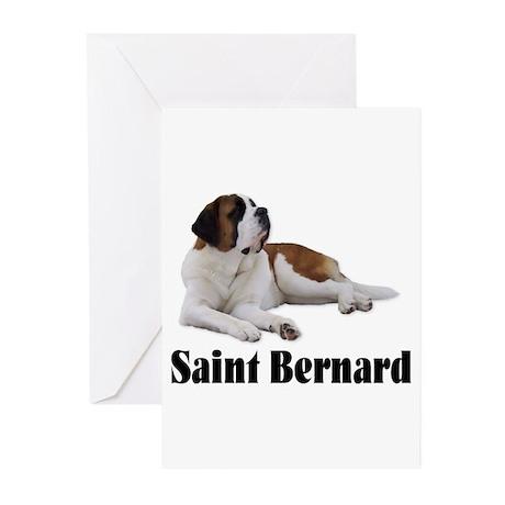 Saint Bernard Greeting Cards (Pk of 20)