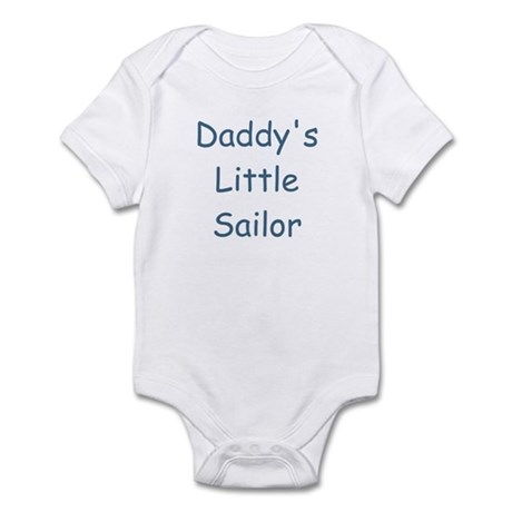 Daddy's Little Sailor Infant Creeper