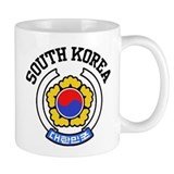 South Korea Small Mug