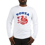 Korea Dragon Long Sleeve T-Shirt