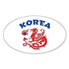 Korea Dragon Decal