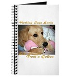 Golden Retriever Lovin Journal