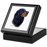Gordon Setter Keepsake Box