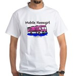 Mobile Home Girl White T-Shirt