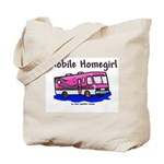Mobile Home Girl Tote Bag