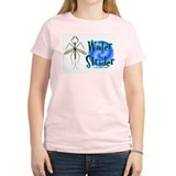 Water Strider Pond Women's Pink T-Shirt