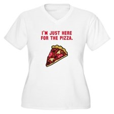 Here For The Pizza T-Shirt