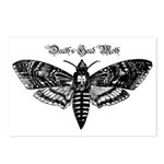 Death's Head Moth Postcards (Package of 8)