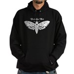 Death's Head Moth Hoodie (dark)