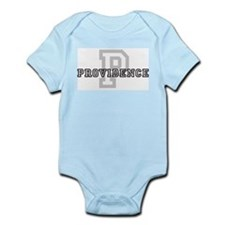 Letter P: Providence Infant Creeper