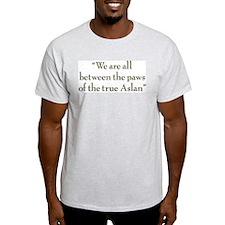 Paws Ash Grey T-Shirt