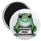 Frog Collector Magnet