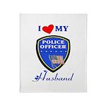 Police Husband Stadium Blanket