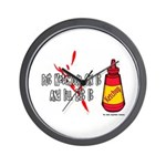 Ketchup Lover Wall Clock