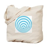 Tote bag with crop circle